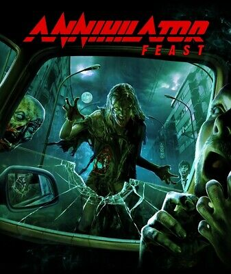 Annihilator - Feast 2 Cd + Dvd Neuf
