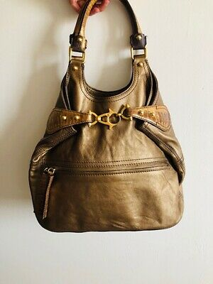 2fd4b51414 SAC A MAIN Givenchy 23 Cm Pochette En Cuir Camel Brown Leather ...