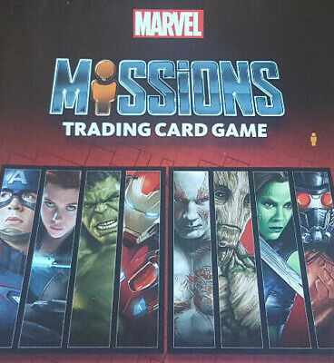 Marvel Missions Trading Card Game - Various Cards - Topps
