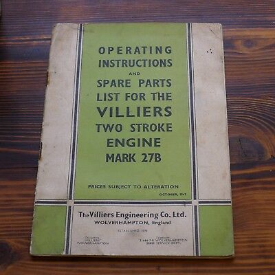 Villiers 2 Stroke Engine Manual