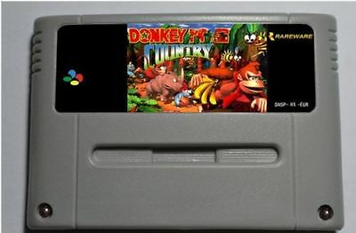 Donkey Kong Country 1, 2 & 3 SNES Super Nintendo