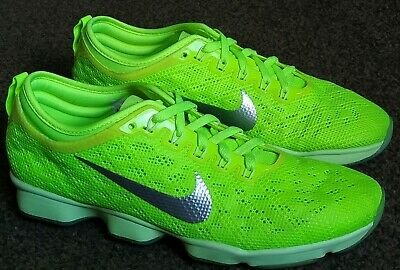 watch c26b5 608f9 Nike Zoom Fit Agility Womens Green Trainers - Uk 4   Eu 37.5 - Superb  Condition