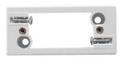 2x Clipsal ARCHITRAVE MOUNTING BLOCKS For 1-Outlet, Horizontal & Vertical WHITE