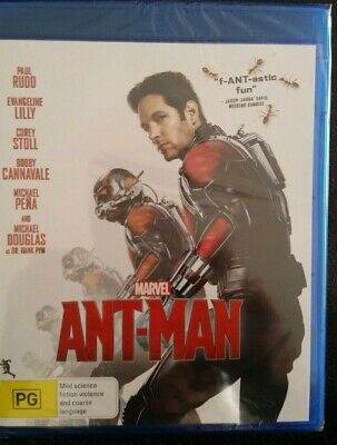 Ant Man 1 Paul Rudd Marvel Aust Region B Blu Ray New Sealed Ant-Man Antman