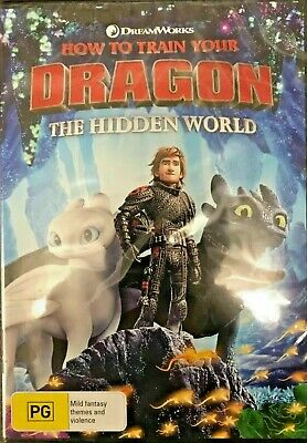 How To Train Your Dragon 3 >Hidden World Genuine Release Region 4 Dvd New Sealed