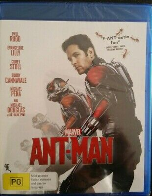 Ant Man 1 Paul Rudd Marvel Aust Region B Blu Ray Brand New Sealed Ant-Man
