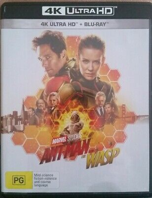 Ant-Man And & The Wasp REGION B (4K ULTRA HD ONLY) AS NEW 1 DISC ONLY