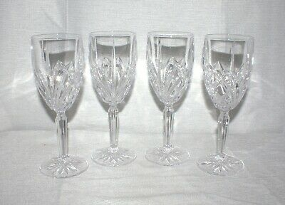 Marquis By Waterford Brookside Crystal Iced Beverage Glass Set of 4