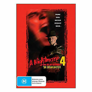A Nightmare on Elm Street 4: The Dream Master DVD Freddy Krueger HORROR