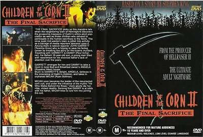 Children of the Corn 2 II - DVD - STEPHEN KING 1992 HORROR MOVIE - ALL REGION