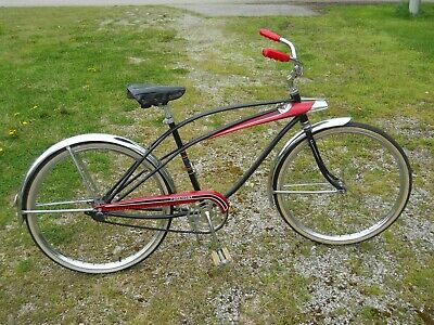 41cb25dcd6b Rare Vintage 1960's Murray Foremost Men's Middle Weight Tank Bicycle Cruiser