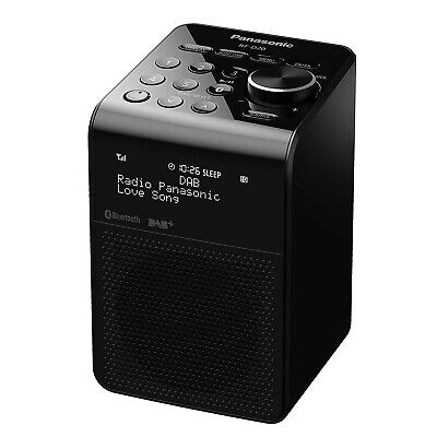 NEW Panasonic RF-D20UGN-K Portable DAB-FM Radio With Bluetooth Water Proof Speak