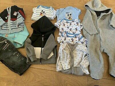 Baby 0-3m 3-6m Boys Clothing Bundle From Next, River Island,Mamas&papas,baby K