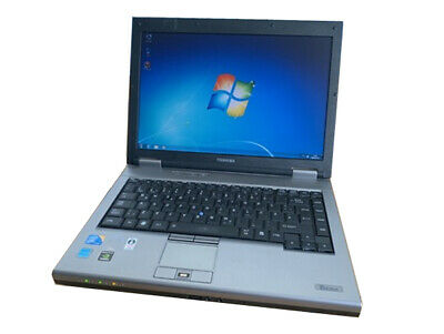 BARGAIN WINDOWS 7 Toshiba Tecra M10 Laptop Core 2 Duo 2GB RAM Warranty WiFi DVD