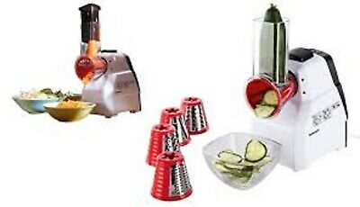 Silvercrest Electric Grater with 5 interchangeable stainless steel blades