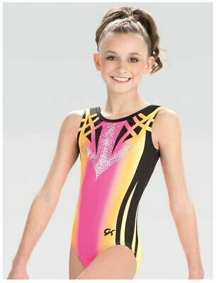 98f6723cb1be2 GK Elite DREAMLIGHT Mirror Sundown Gymnastics LEOTARD Child & Adult Sizes  New