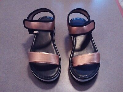3893421036b17 SKECHERS WEDGE APPEAL BRUSH OFF Silver Ankle Strap Sandals - $24.99 ...