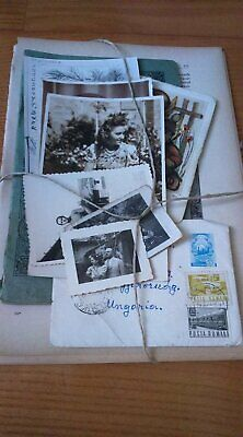 Vintage ephemera Pack (European) assortment of 25 pcs original PAPERS -. Pack fo
