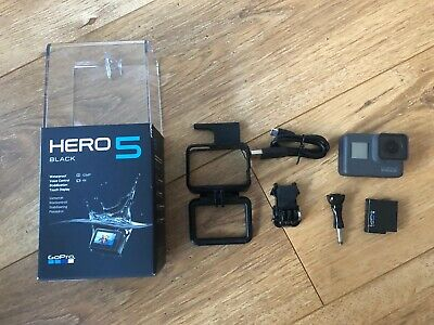 GoPro HERO5 4K HD Camera - Black and accessories - used