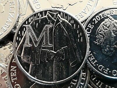 2018. MACKINTOSH. LETTER 'M'. Alphabet Ten Pence.A to Z 10p. From a Sealed Bag.