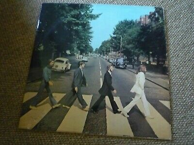 Rare Original FIRST 1ST PRESSING THE BEATLES - ABBEY ROAD - HM CREDIT VINYL LP