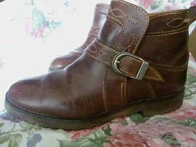 bfee1f695c401 CHAUSSURES BOTTINES FEMME Aigle tout cuir taille 38 - EUR 18