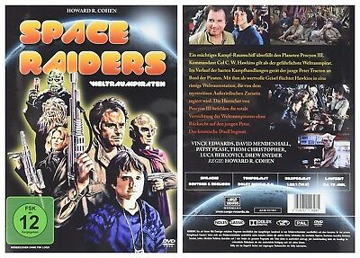 Space Raiders (1983) - NEW R2 DVD - Vince Edwards, David Mendenhall UK Dispatch