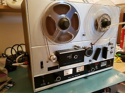 Akai 4000D Reel to Reel Recorder - Serviced by Delatronics, excellent Condition.