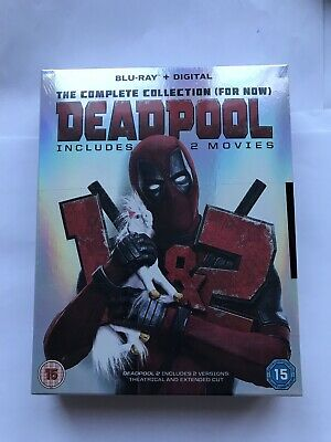 Deadpool 1 + 2 Complete Collection Blu Ray Box Set