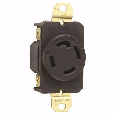 New Pass & Seymour L1630-R : Turnlok Single Receptacle 4-Way 30A 3P 480V