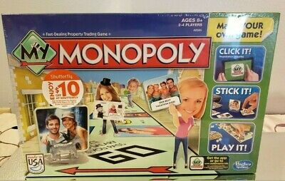 My Monopoly Make Your Own Game Board Game Brand New