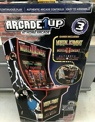BRAND NEW IN BOX Mortal Kombat 2 Arcade Machine, Arcade1UP, 4ft