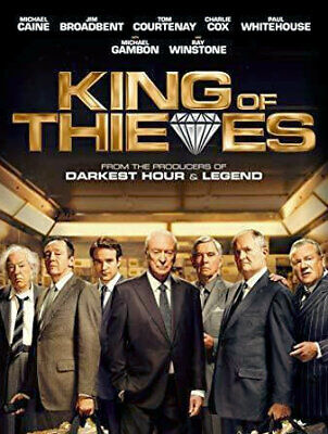 King of Thieves (DVD) BRAND NEW & SEALED DVD  Region 1 (USA)