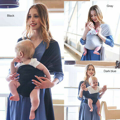 Baby Sling Wrap Carriers Stretchy Pouch Breastfeeding Newborn Birth to toddler