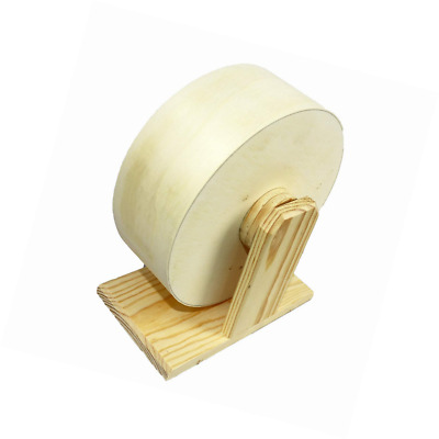 Pet Ting Wooden Wheel 21cm Exercise Smooth Motion Solid Running Small Pets