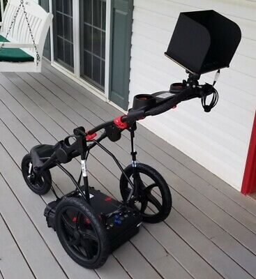 Ground Penetrating Radar Complete Cart System see to 12 feet high resolution new