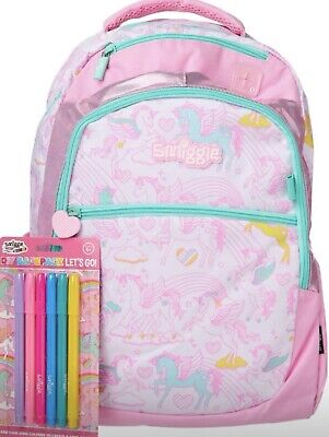 SMIGGLE Unwanted Present GIRLS UNICORN DIY BACKPACK  bag With Tags