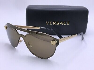64119adf9f26d Versace Ve2161 1002 F9 Gold Medusa Shield Authentic Mod.2161 Made In Italy