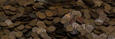 5000 Count Bag of 1940/'s,50/'s P /& D Mint Marks Lincoln Wheat Cents Free Shipping