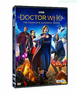 Doctor Who Season 11 (DVD) BRAND NEW & SEALED DVD  Region 1 (USA)