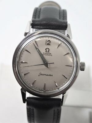 Vintage S/Steel OMEGA SEAMASTER  Automatic Watch 1950s Cal.470* EXLNT* SERVICED