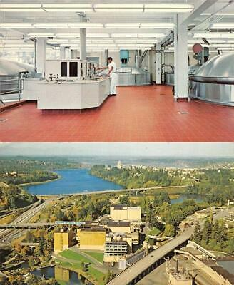 TUMWATER, WA Washington  OLYMPIA BREWING COMPANY & BREWHOUSE  *Two* Postcards