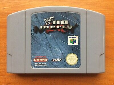 WWF No Mercy - N64 PAL - Free Post - AUS Seller - Great Condition Nintendo Game