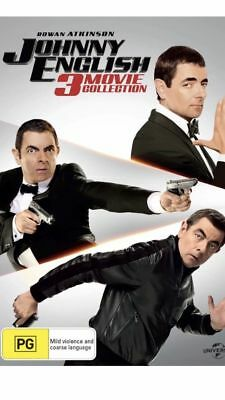 Johnny English 3 Movie Collection BRAND NEW Region 4 DVD