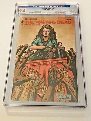 The Walking Dead #127 CGC 9.8 Image 2014 1st Magna, Luke, Yumiko Connie AMC KEY!