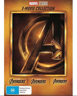 Avengers 3 Movie Collection BRAND NEW Region 4 DVD