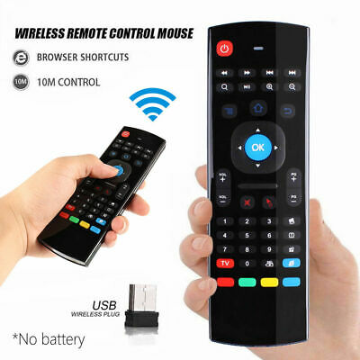MX3 REMOTE-CONTROL WIRELESS Air Fly Mouse Keyboard for PC Smart TV