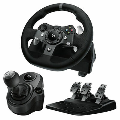 Logitech G920 Racing Wheel for Xbox One / PC + Driving Force Shifter Brand NEW