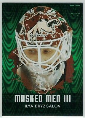 2010-11 ITG Between The Pipes Masked Men III Emerald #MM19 Ilya Bryzgalov Vault