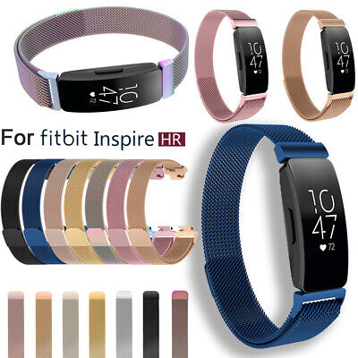 Band Mesh Magnetic Milanese Strap Stainless Steel For Fitbit inspire & HR